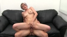 Big Tit Blonde Cheater Ass Fucked and Cum Covered