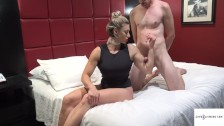 Rapture is pleased by her sex slave who has been waiting years to fuck her!