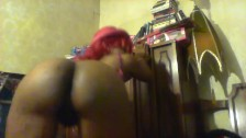 Pussy Dance from behind with a little play