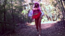 SECRETCRUSH - Sexy Cute Fairy POV Anal Fucked By Stranger In Public Forest!