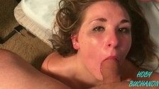 Pretty Skylar Slapped, Throat Fucked, Fingers Down Throat, Cum Shot