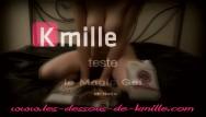 Vaginal gel formulation Kmille teste le gel de massage nuru magicgel