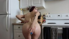 A Little Naughty Fun in the Kitchen
