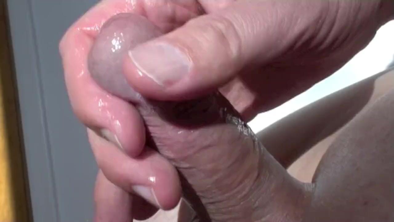 массаж головки члена видеоролики