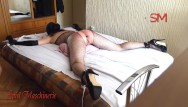 Pussy whip tube Brutal whipping fucking and monster dildo pussy destroying tied gagged sl