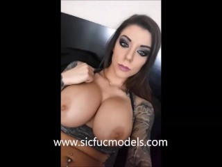 Karma Rx DP show. Pussy fucked while taking it anal.