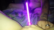 Naked chicks with lightsabers Sir-kink gets his dick sucked then fucks little neko with a lightsaber