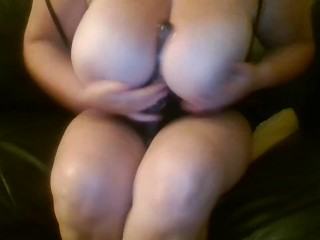 Amateur Big Tits Horny Milf Dildo Anal Beads Wet Pussy POV Fingering Sexy