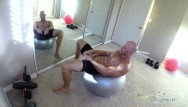 Working as a gay porn model Sinslife - porn stud johnny sins jerks off while working out