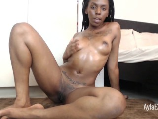 Ayla – Oiling up my Beautiful Brown Body