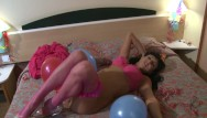 Spain girl fuck Anal sex party in the hotel room with horny spanish girl