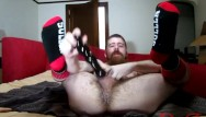 Gay windsock flag Thedudewhosadude shoves more toys up his ass and wears socks