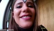 Julia teen dreams set 4 Blowjob close to the hotel-reception : little caprice