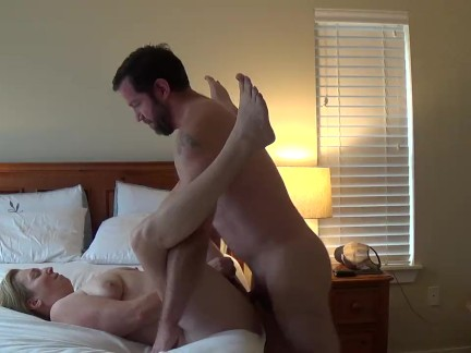 Cheating wife back for fucking and toe sucking