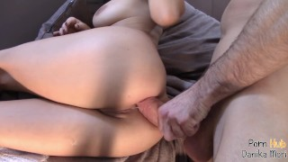 Anal workout for Multi-Orgasm fitnees Teen,She swallows hugeCock loads!