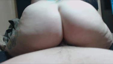Amateur POV Riding Missionary and Creampie