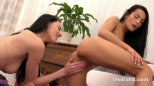 Fingering my girlfriends asshole while i lick her pussy