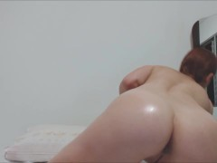 Pink Pussy, Ass And Melons Whit Oil