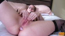 Petite Amateur LindseyLove Fucked in Lingerie