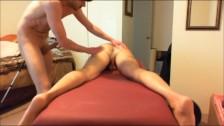 Dad Gets BB ANAL Massage-prt2