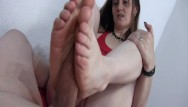 Hands fetish Foot job hand job blow job with chucks and without