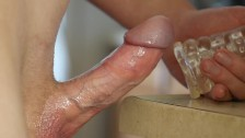 Meat and Wine - Veiny cock close up
