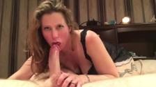 BJ reverse POV, perfect cock sucking & cum swallowing