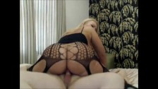 Big booty fucks the cock and takes hot spunk
