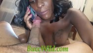 Blowjob when on the phone Ghetto girl blowjob while on phone and squirt.....buccwild and cocoasounique