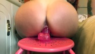 Nude spinning dvd Keri loves sit and spin