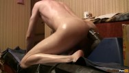 Twink ass holes A boy in oil, fucks a huge black dildo with his little hole
