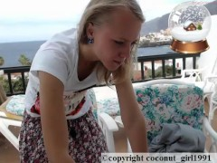 Teen Spraed Hairless Pinkish Cooter Coconut_girl1991_091216 Chaturbate Live Rec