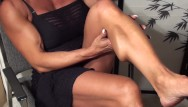 Athletic cock fun good guy shape Shapely muscle never looked soooo good. fbb latia flexes for the fans