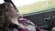 Naked woman image - Naked in public. naked in car. woman masturbating in car close up pussy pov