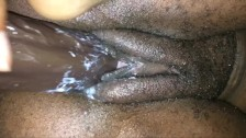 FINGER-FUCKING MY WET CREAMY TIGHT TEEN PUSSY