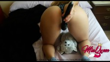 Small Latin Teenager wakes up horny in the morning and gets Many Orgasms !!