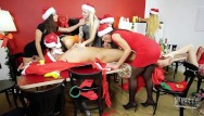 Seven porn star Seven daughters and santa xmas group porn