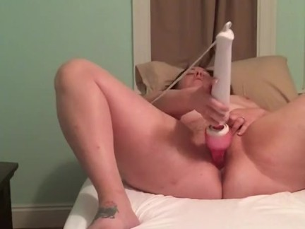 Naughty Housewife left all alone can't get enough using multiple toys