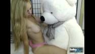 Dirty porn teddy bear Giant teddy bear humping