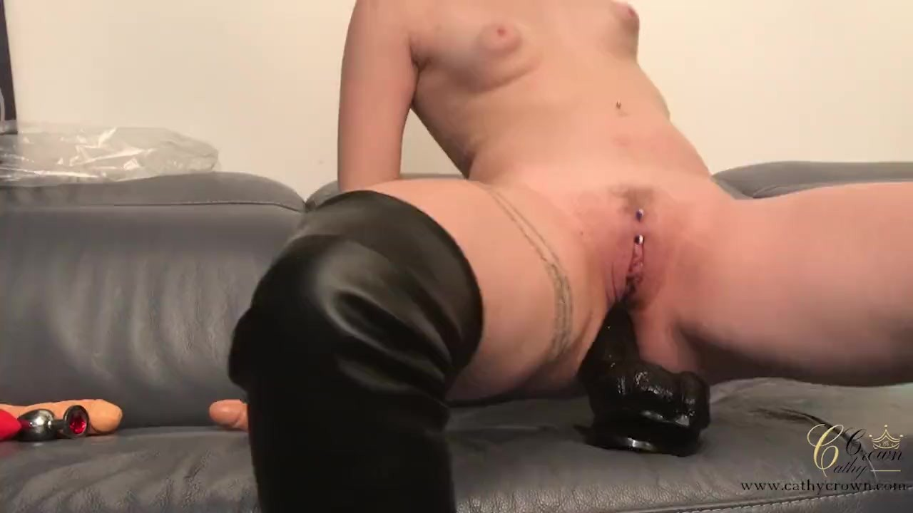 Amateur Edges, then Makes Herself Squirt and Cum Hard