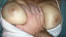 Shy Asian Tit Bounce Compilation (Cum on Big Natural Boobs Bouncing!)