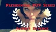 Savage fucking - Presidential blowjob roleplay super hot stella von savage gags spits