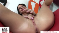 Perfect Body Mya Nichole fucks and gives big lips blowjob for Monster Cock!