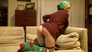 Sex holilday Happy holidays special: santas naughty helper needs punished via spanks