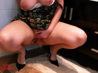 Dirty fuck in the bathroom