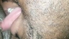 Lick her til legs shaking ( fat pussy milf)