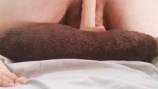 Horny and alone playing with new toy in wet pussy