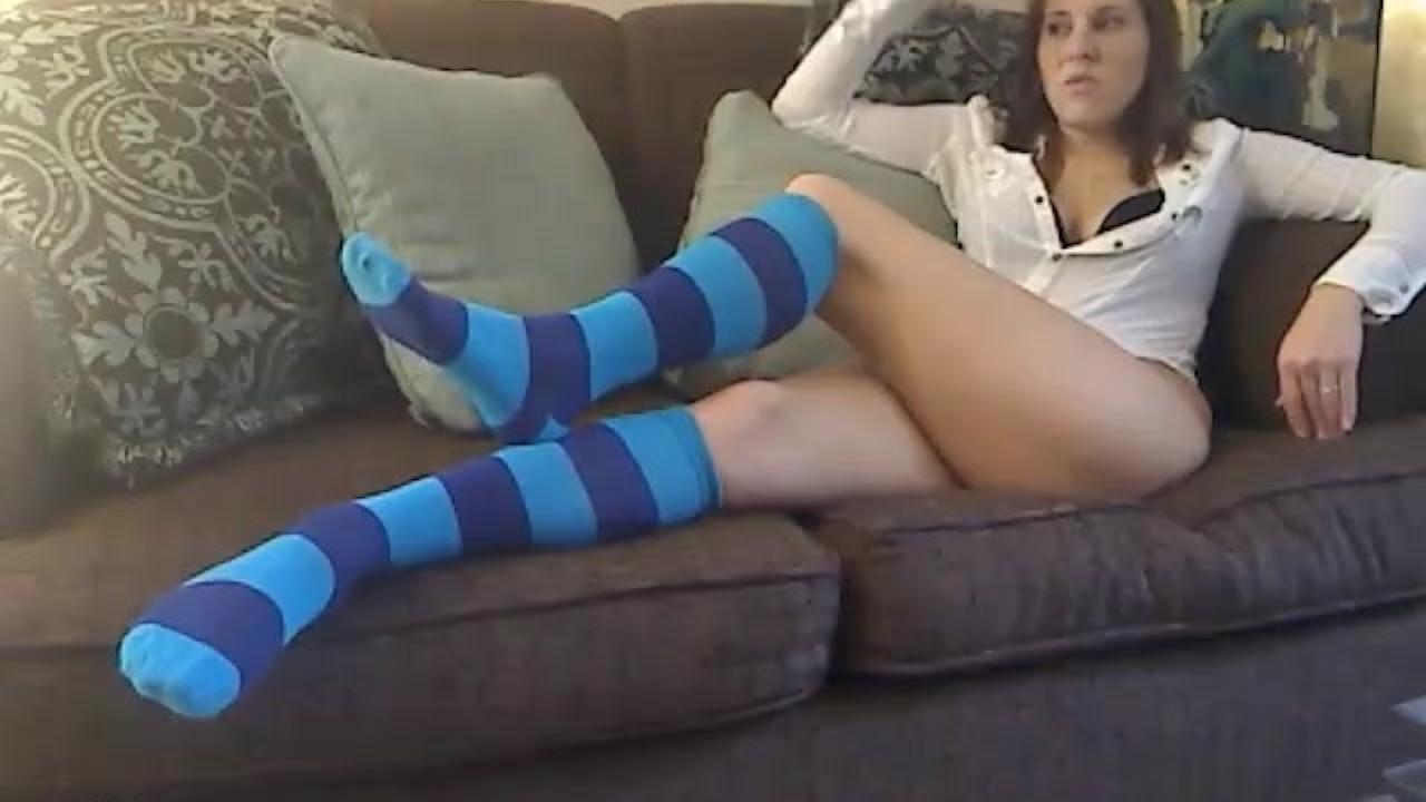 Мегжерз-синие гольфы