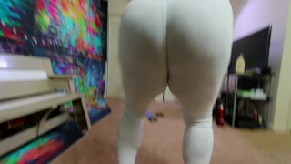 BUBBLE BUTT TEEN Workout & Fuck