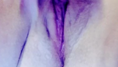 Closeup orgasm (family in room next to me)